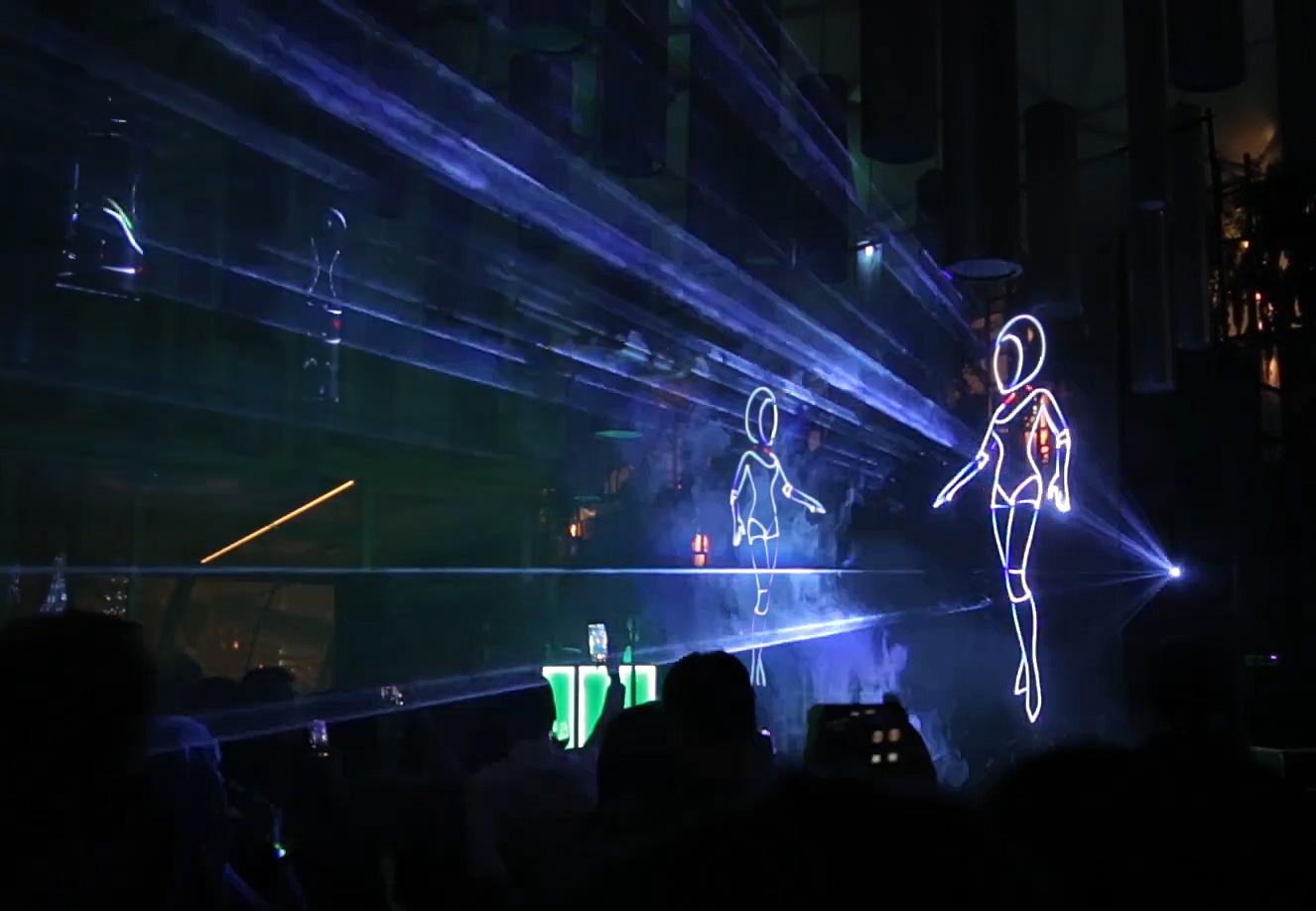 Лазерное шоу 2020